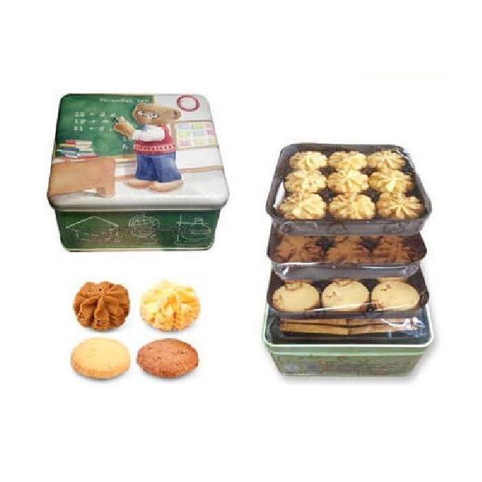 [해직] 홍콩 제니 베이커리 쿠키 4믹스 스몰 미디움 라지 320g 380g 640g Jenny Bakery cookie 4mix S M L, 1개