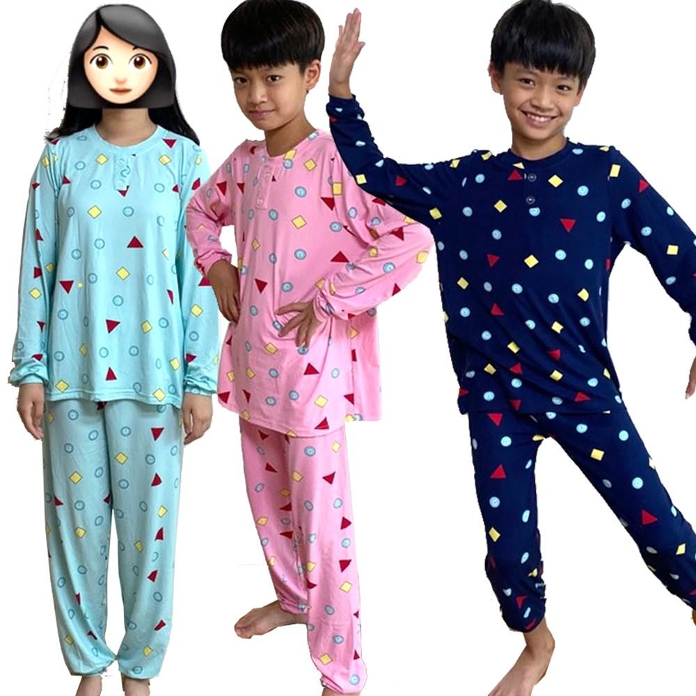짱구잠옷 도형잠옷 어린이용 세트 주니어잠옷 상하세트잠옷 주니어잠옷