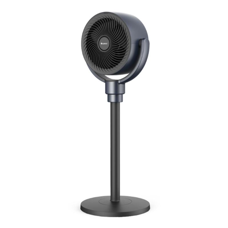 써큘레이터 날개없는 선풍기 추천초 공기 순환 팬 가정용 조명 사운드 바닥 원격 제어, 전기석 블루 블랙 (POP 5715750573)