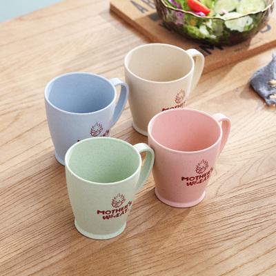 어반30 북유럽 머그잔 카페 머그컵 여름 잘 안 깨지는 물컵 학생컵 인스, 4색 컵손잡이