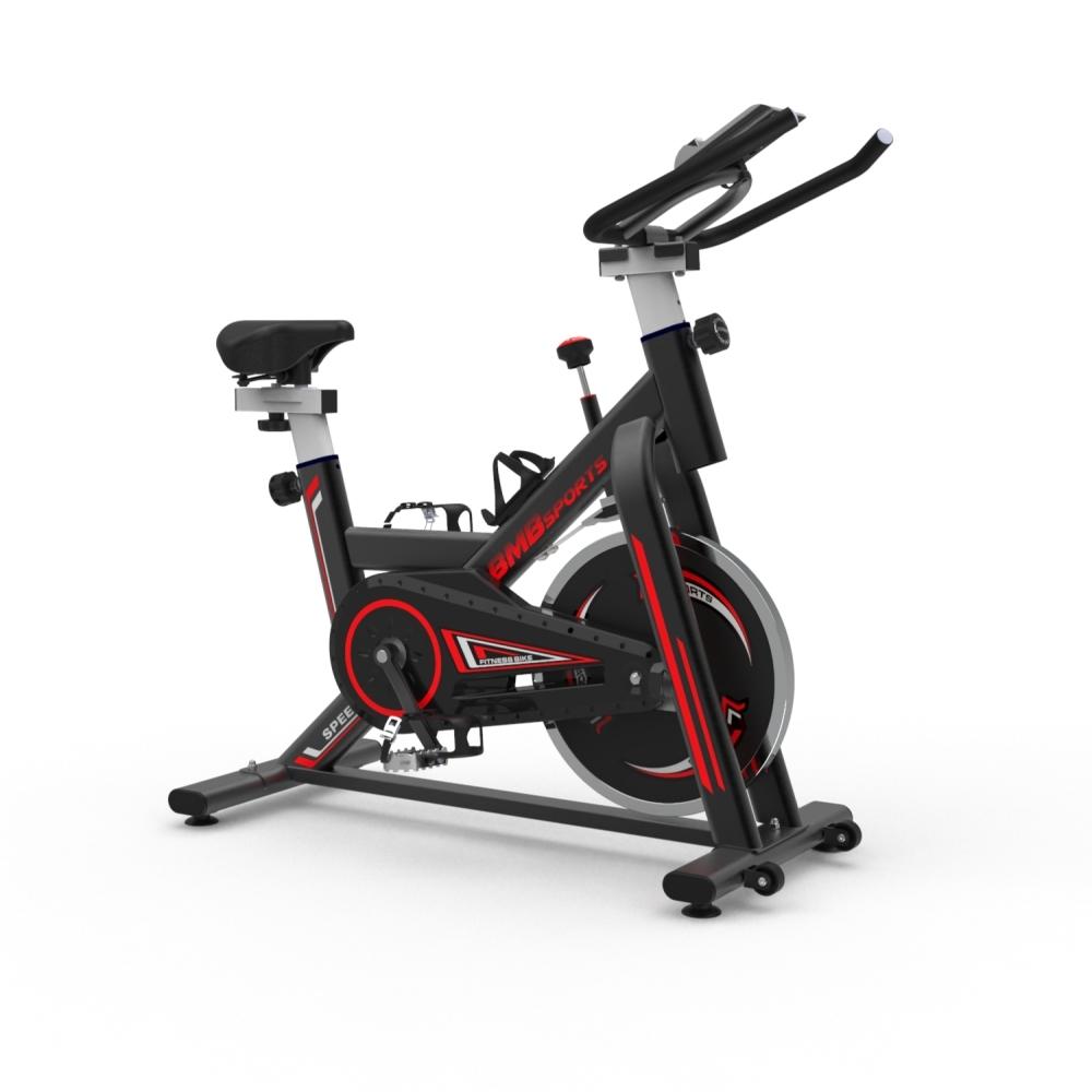 비앰비스포츠 고정식 자전거 BSI-X105AZ 스핀바이크 실내 사이클 가정용 홈트, BSI-X105AZ 블랙(전용매트미포함)