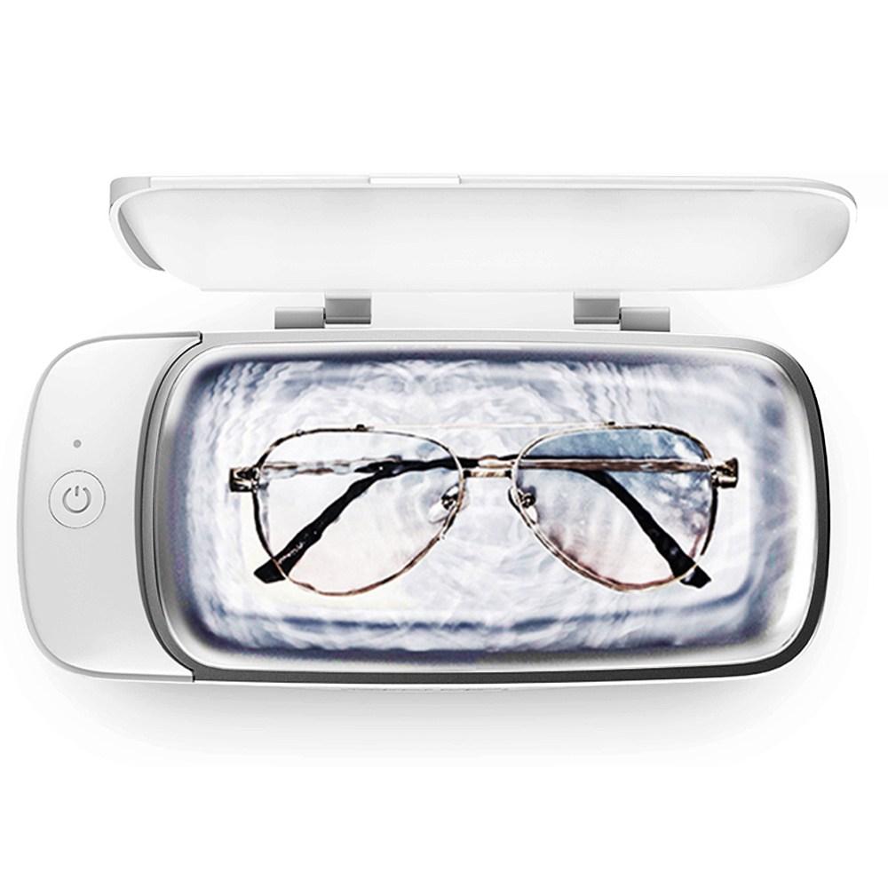 풀셋 가정용 초음파세척기 안경세척기 귀걸이 반지 전자담배 클리너, 1개