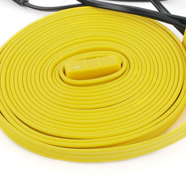 노란열선 불에 안타는 난연재질 안전한열선 센서형 일반형1m2m3m5m10m20m30m50m, 1개