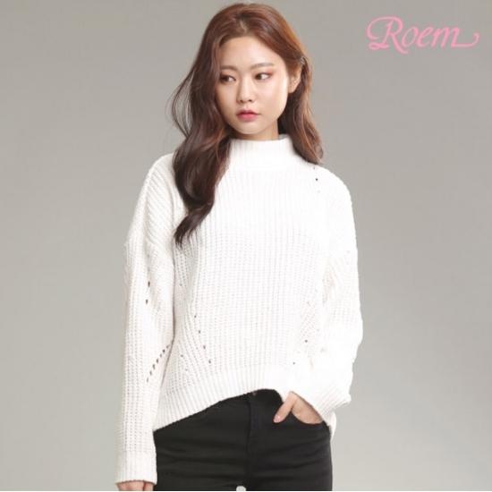 로엠 로엠 WY 볼륨소매 니트 - RMKA84CRQ2_39_T4V9