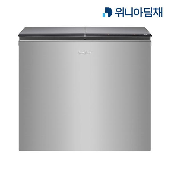 21년형 김장시즌특가 [위니아딤채] 뚜껑형 221L 김치냉장고(뚜껑형 / 2도어 / 용량: 221L / 용기: 8개 / 용기용량: 136.2L / 투명Ez용기 )