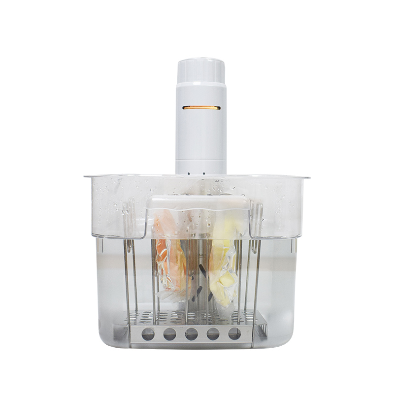 AnchorChef 수비드 머신 1050w 스테이크 조리법 가정용 삼겹살 닭가슴살 요리 기계, 하얀