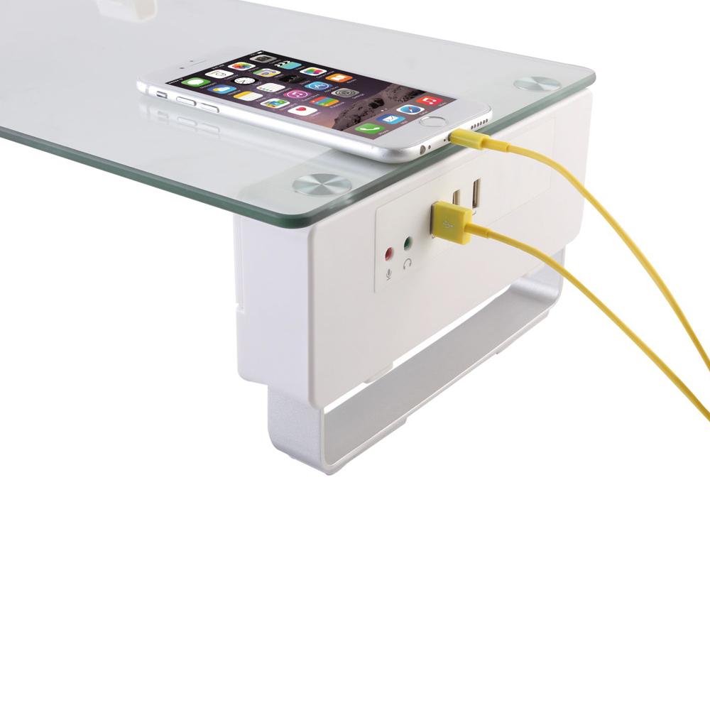 오라이프 모니터받침대, USB장착, 1개