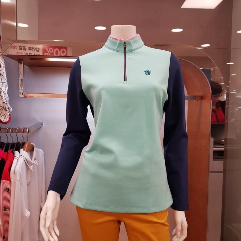 김영주골프 [초특가세일 주문폭주] 세련된 컬러의 여성집업 골프 티셔츠