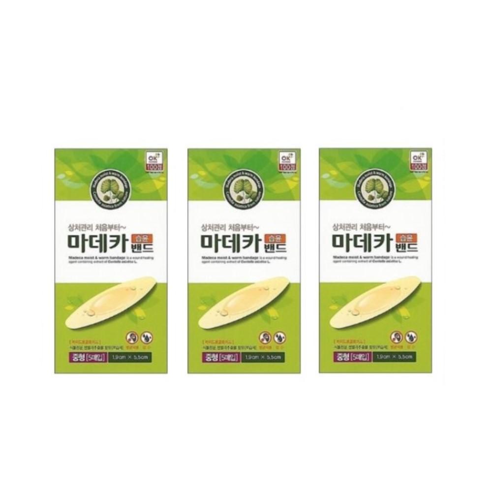 동국제약 마데카 습윤밴드 중형 5매 1개 2개 3개 5개 (POP 4564714283)