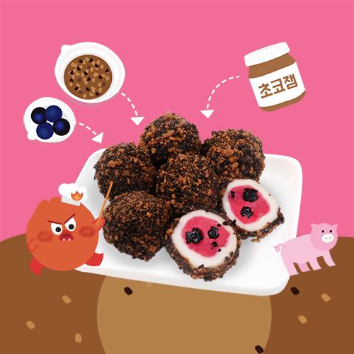 키즈쿠킹박스-돼지바경단 떡만들기 떡만들기세트, 단일상품
