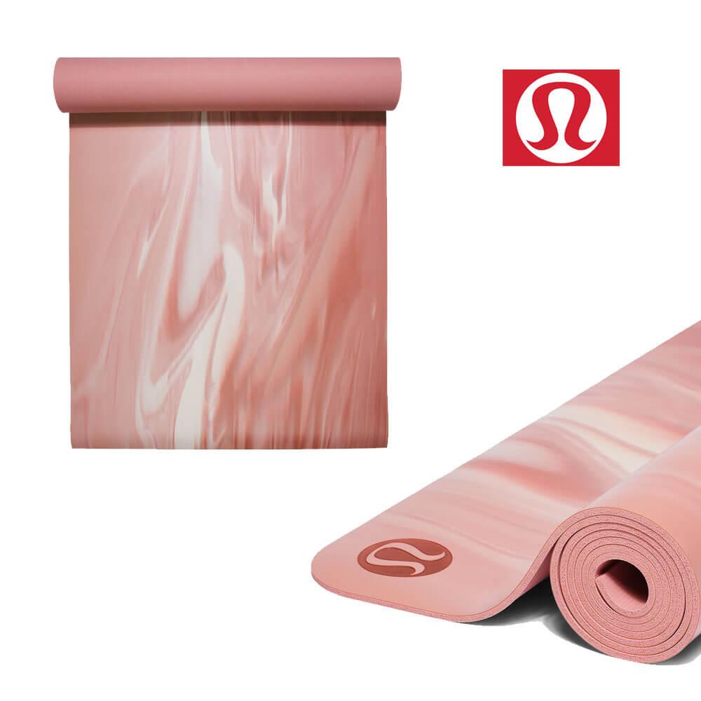 룰루레몬 요가매트 리버시블 Pink Pastel 매트 The Reversible Mat 5mm