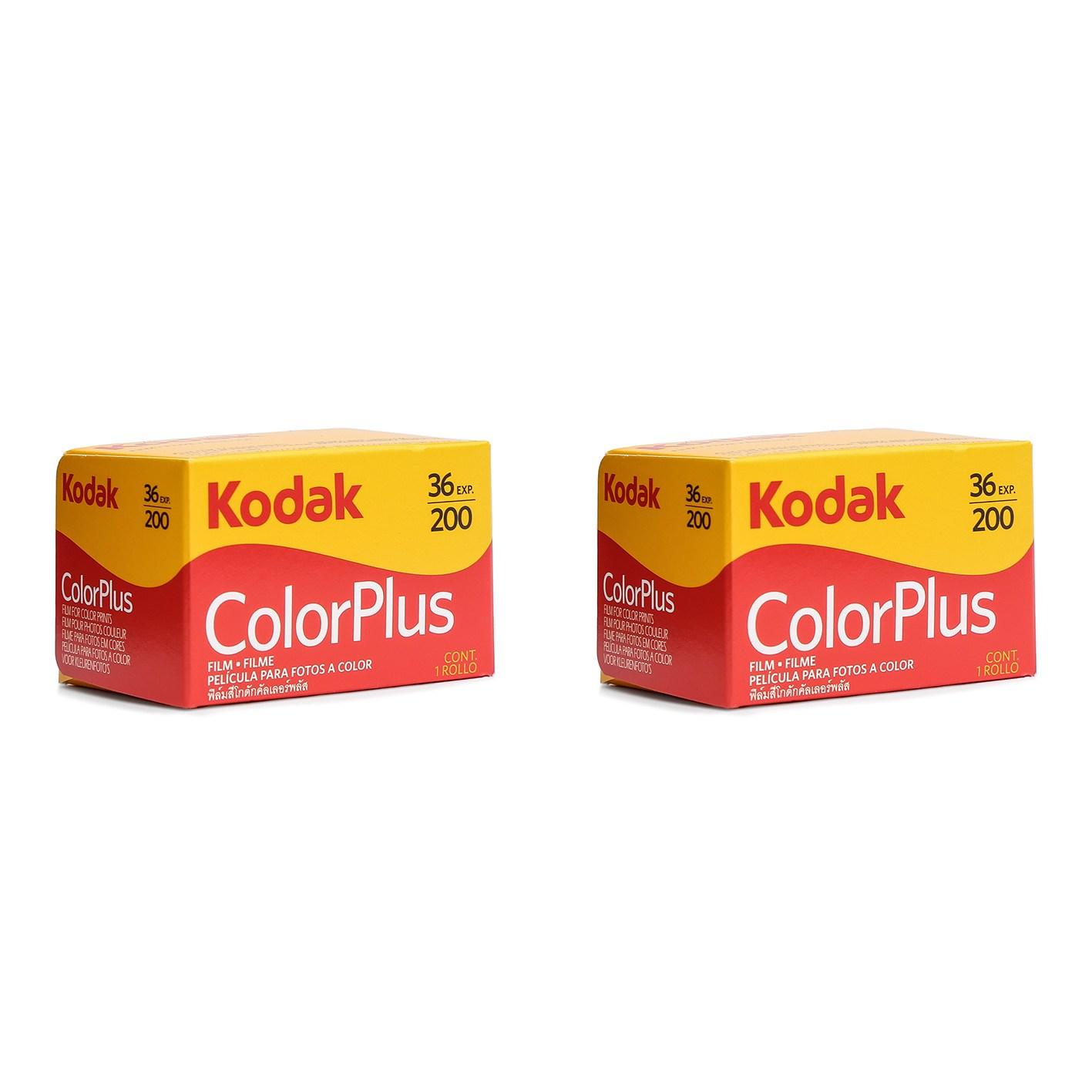 코닥 컬러플러스 ISO 200 36롤 패키지 컬러네거티브 필름, 2개