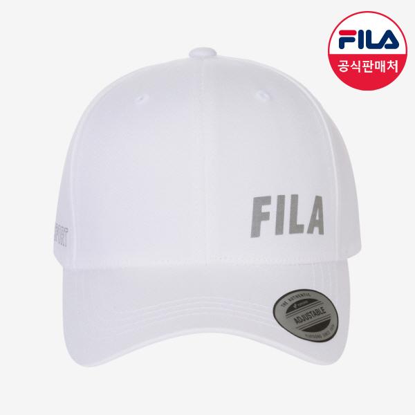 [공식] FILA (공용) 고딕로고 베이스볼캡 (FS3CPC5103X_OWH), OWH 오프화이트