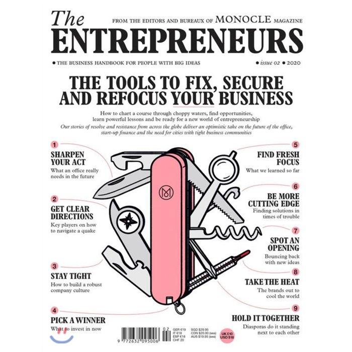 Monocle The Entrepreneurs (연간) : 2020년 No. 2, Gestalten Verlag