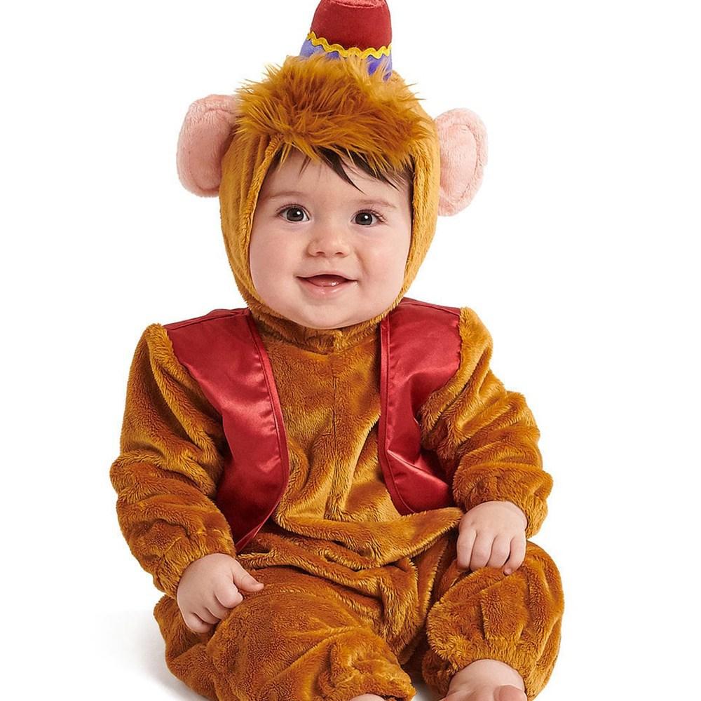 [해외] 알라딘 원숭이 아부 코스튬 베이비 유아용 할로윈 코스프레 의상