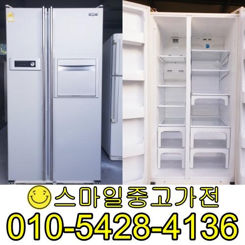 삼성지펠 양문형냉장고 2도어 중고양문형냉장고 이사 공장입주 신혼가전 가성비 최고제품 보유 특가세일중 684리터, 중고업소용냉장고