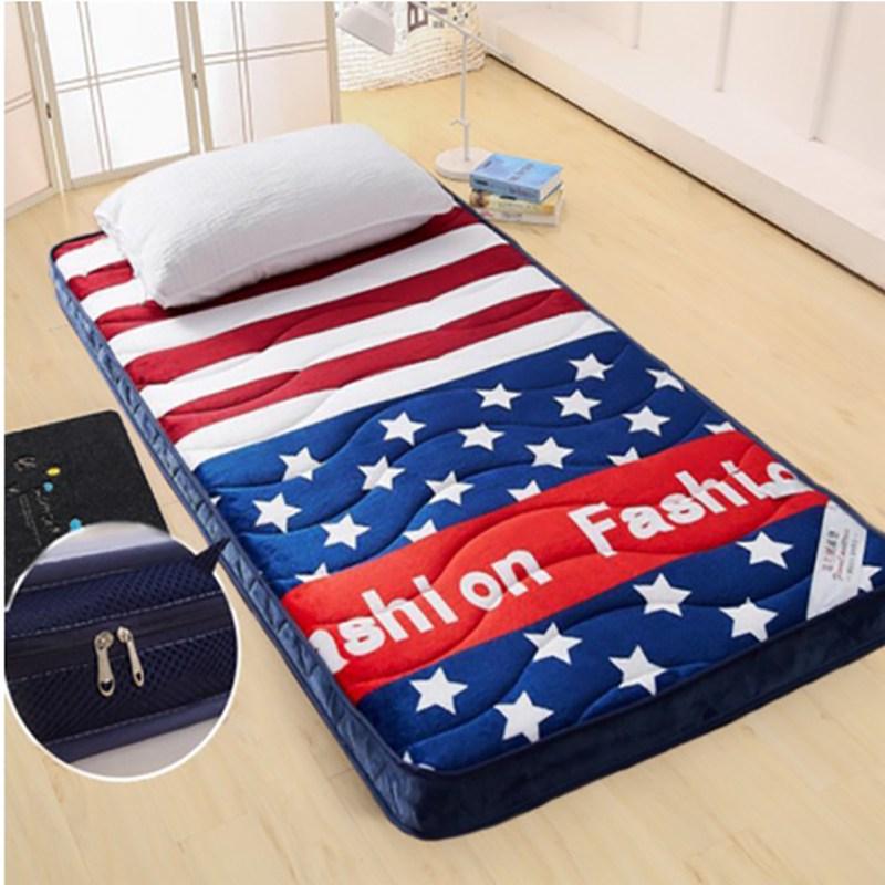 폴라도레 바닥 매트리스 토퍼 요매트 두꺼운 패드 침대 매트 +폴라도레사은품증정, P타입