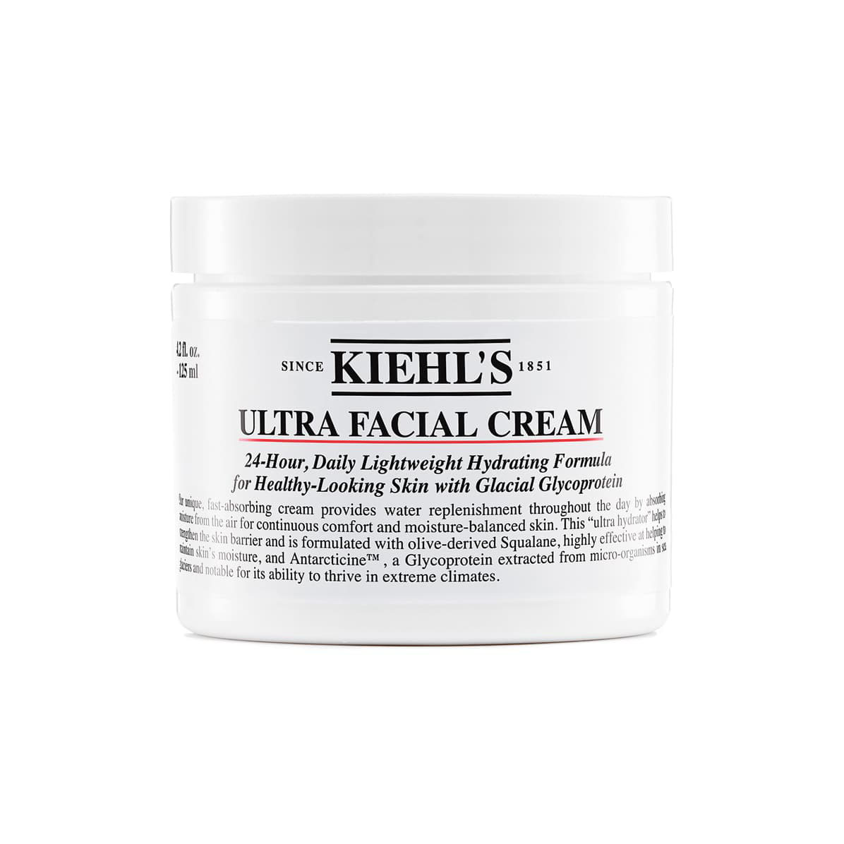 KIEHLS SINCE 1851 Kiehls Ultra Facial Cream 키엘 울트라 훼이셜 크림 125ml, 1개