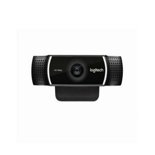 로지텍 C922 프로스트림 웹캠 벌크 삼각대미포함, 블랙, C922pro