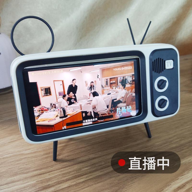 Guangdong 미니 휴대용 무선 TV 스타일 레트로 블루투스 스피커, 커피, ph-800