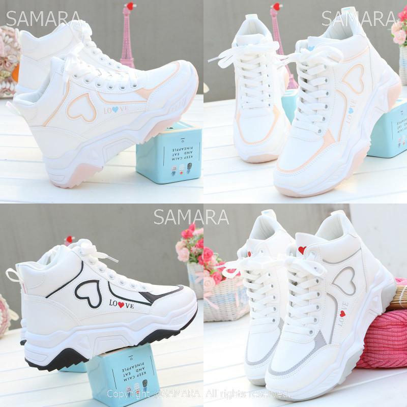 Qterra(특허브랜드) 캐주얼 신발 운동화 여성화 가을 신발 하이탑