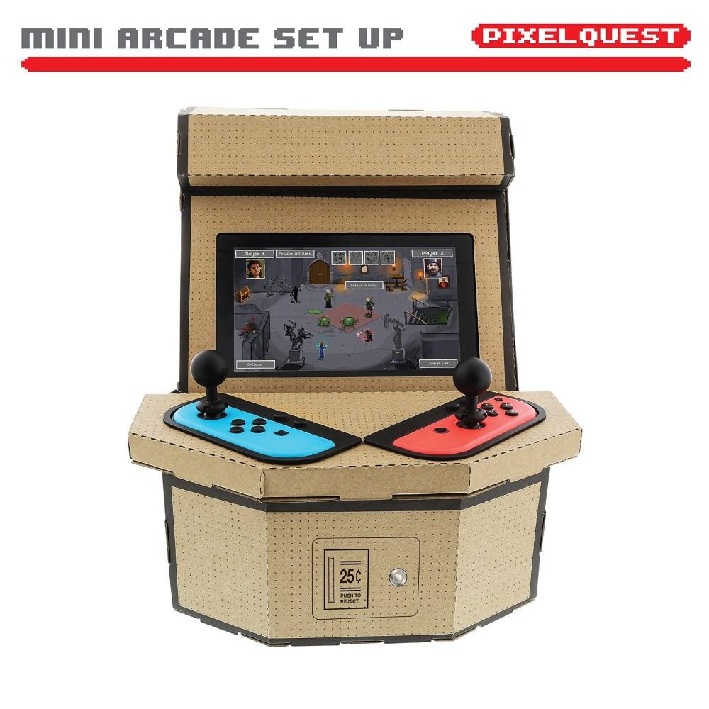 Nintendo Switch Nyko PixelQuest Arcade Kit 스위치 아케이드키트 labo, 1개