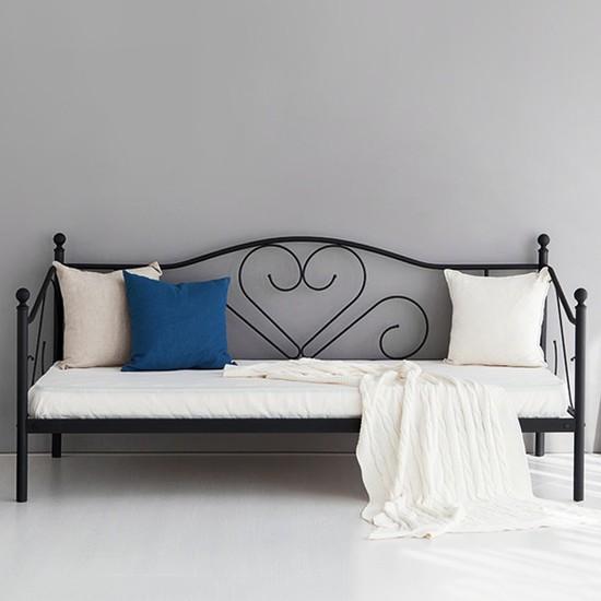 마켓비 SMORART 데이베드 침대 싱글 90200 KS1030BD, 블랙