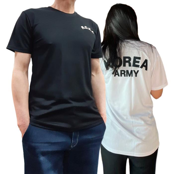 소마 반팔 긴팔 로카 쿨드라이 티셔츠 군인 군용 군대 반 기능성 밀리터리 남자 남성 면 코리아 아미 티