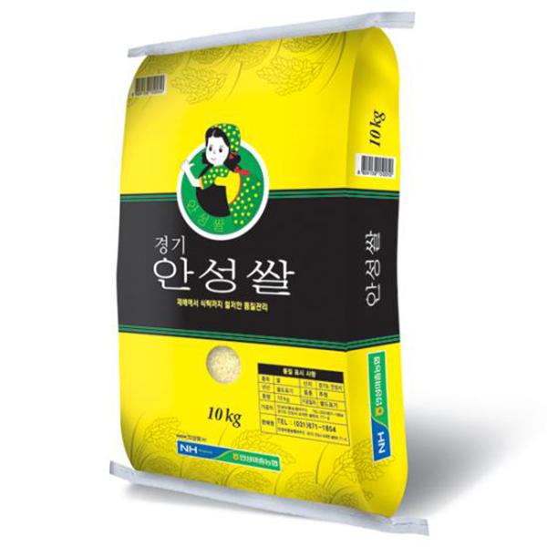 안성마춤농협 2020년 햅쌀 안성쌀 추청 10kg, 1개