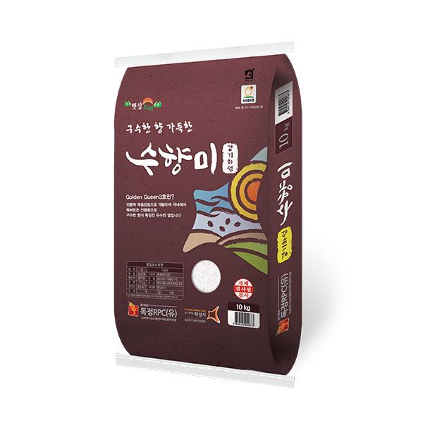 [20년산] 독정 수향미쌀 10kg / 골드퀸3호, 1포
