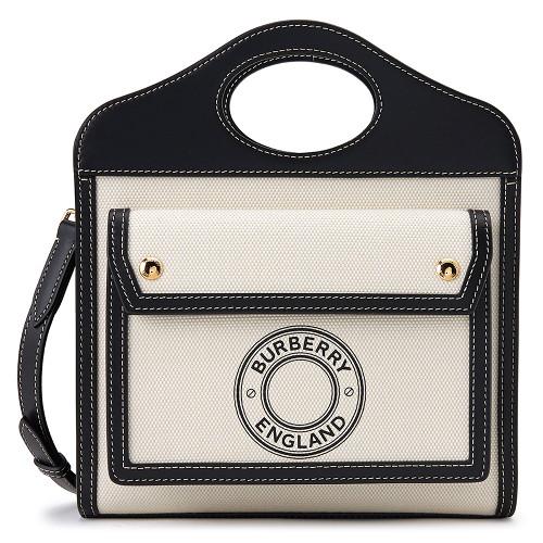 버버리 [버버리] 미니 로고 그래픽 POCKET BAG 8028058 여자 포켓백