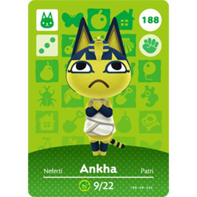 동물의숲 아미보카드 DIY, 1개, 188 클레오