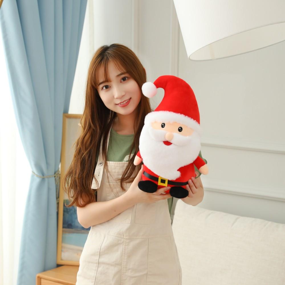 크리스마스 산타 루돌프 인형 사이즈 대형 소형 쿠션, 산타 클로스 40cm
