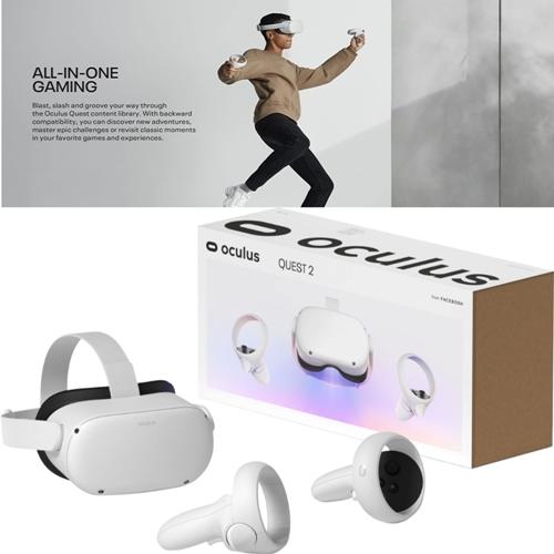 오큘러스 퀘스트2 Oculus Quest2 올인원 VR 헤드셋 추가금없음 64GB 256GB