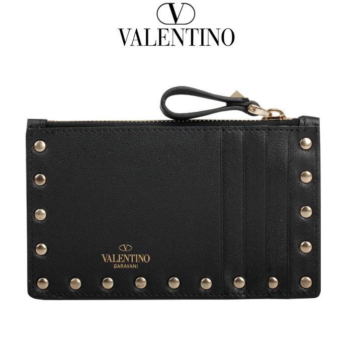 발렌티노 20SS 여성 락스터드 카드 지갑 TW2P0548 BOL 0NO