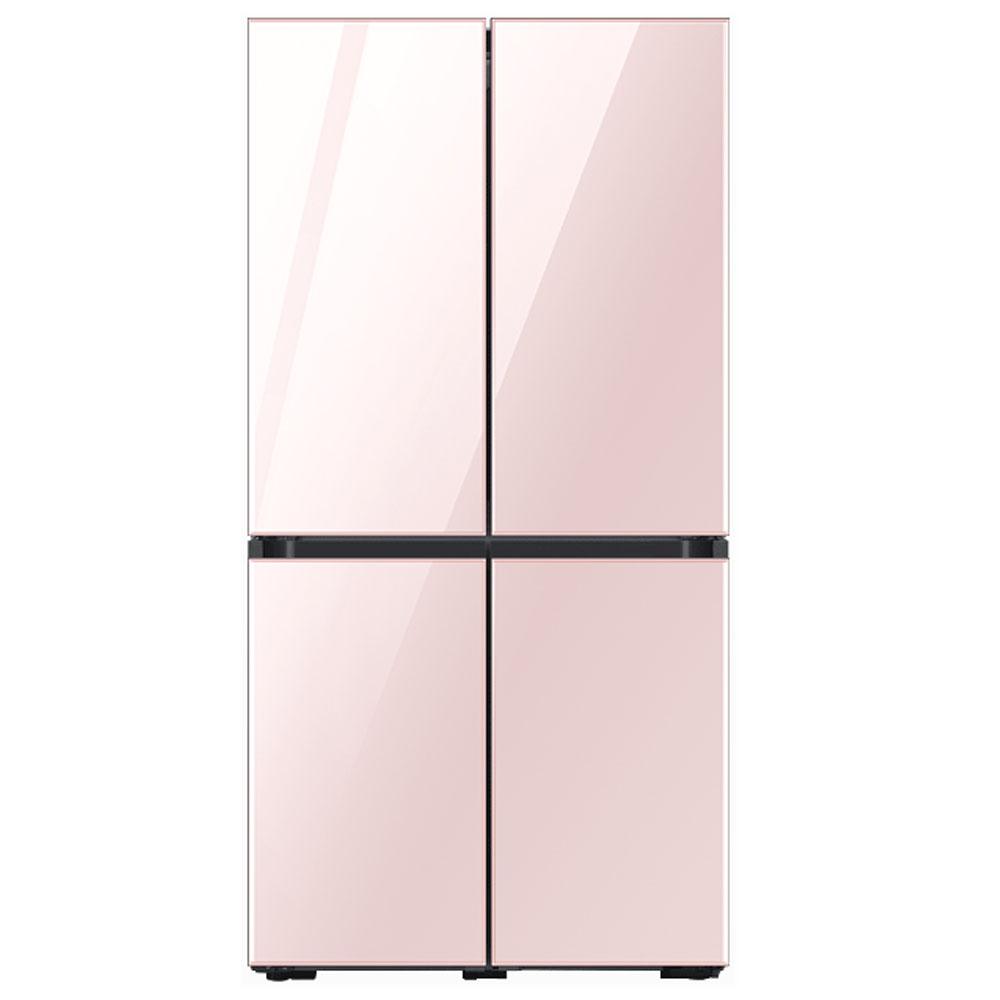 삼성전자 비스포크 냉장고 RF61T91C332 (RF61T91C3AP) 키친핏 글램 핑크, 단일모델