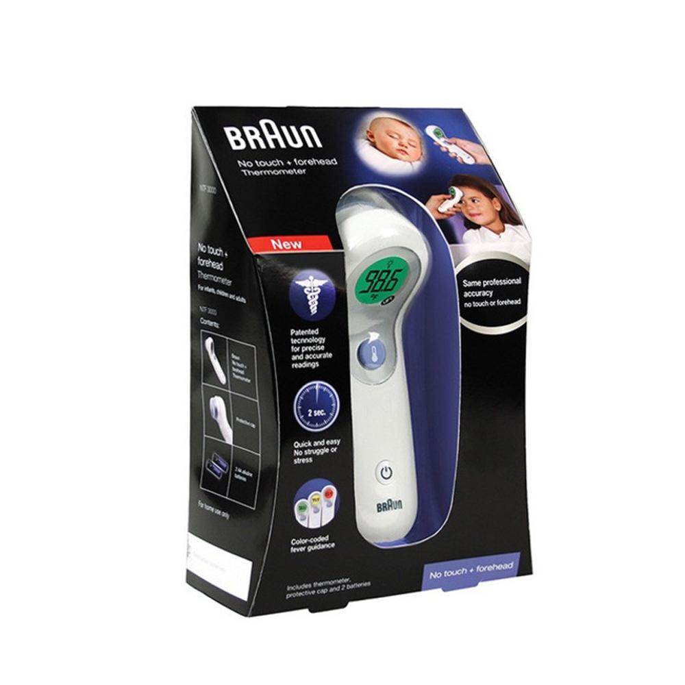브라운 비접촉 체온계 이마 체언계 BNT400 BNT400CN, 비접촉 체온계 이마 체온계