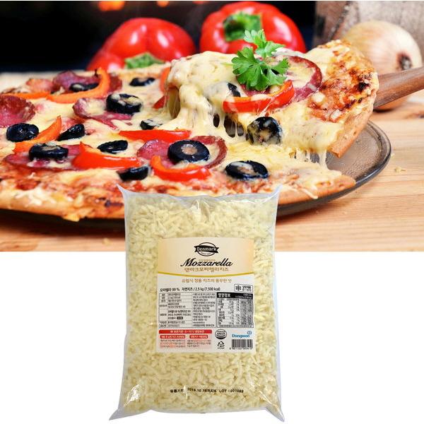 동원 모짜렐라 피자치즈 2.5kg 자연치즈99%, 1개