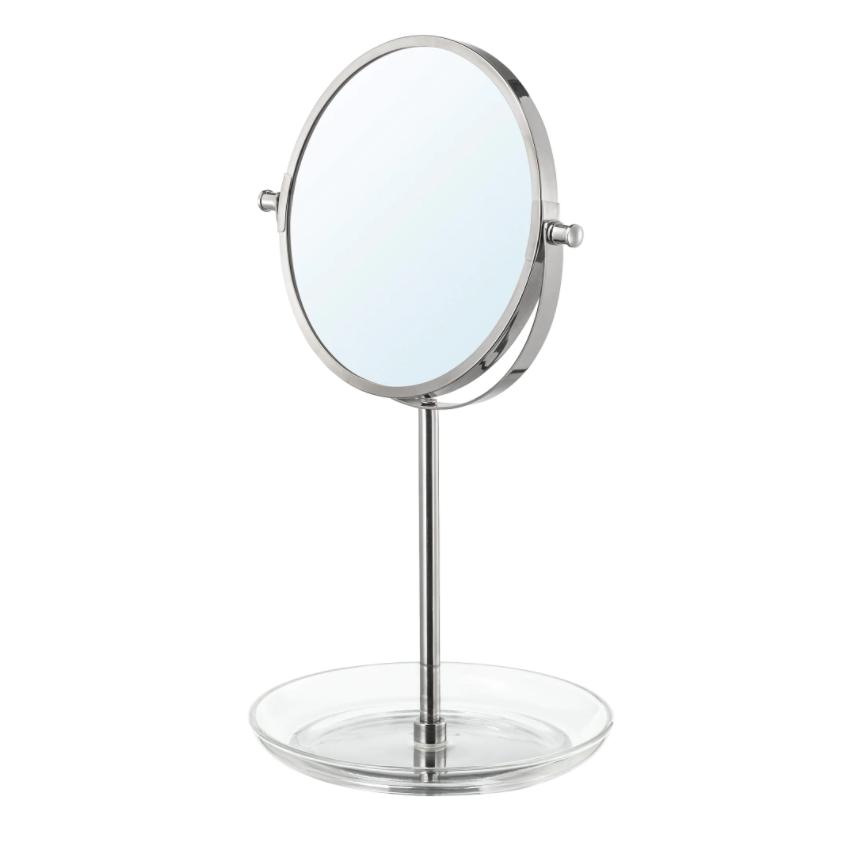 이케아 BALUNGEN 발룽엔 거울 크롬도금21x36 cm