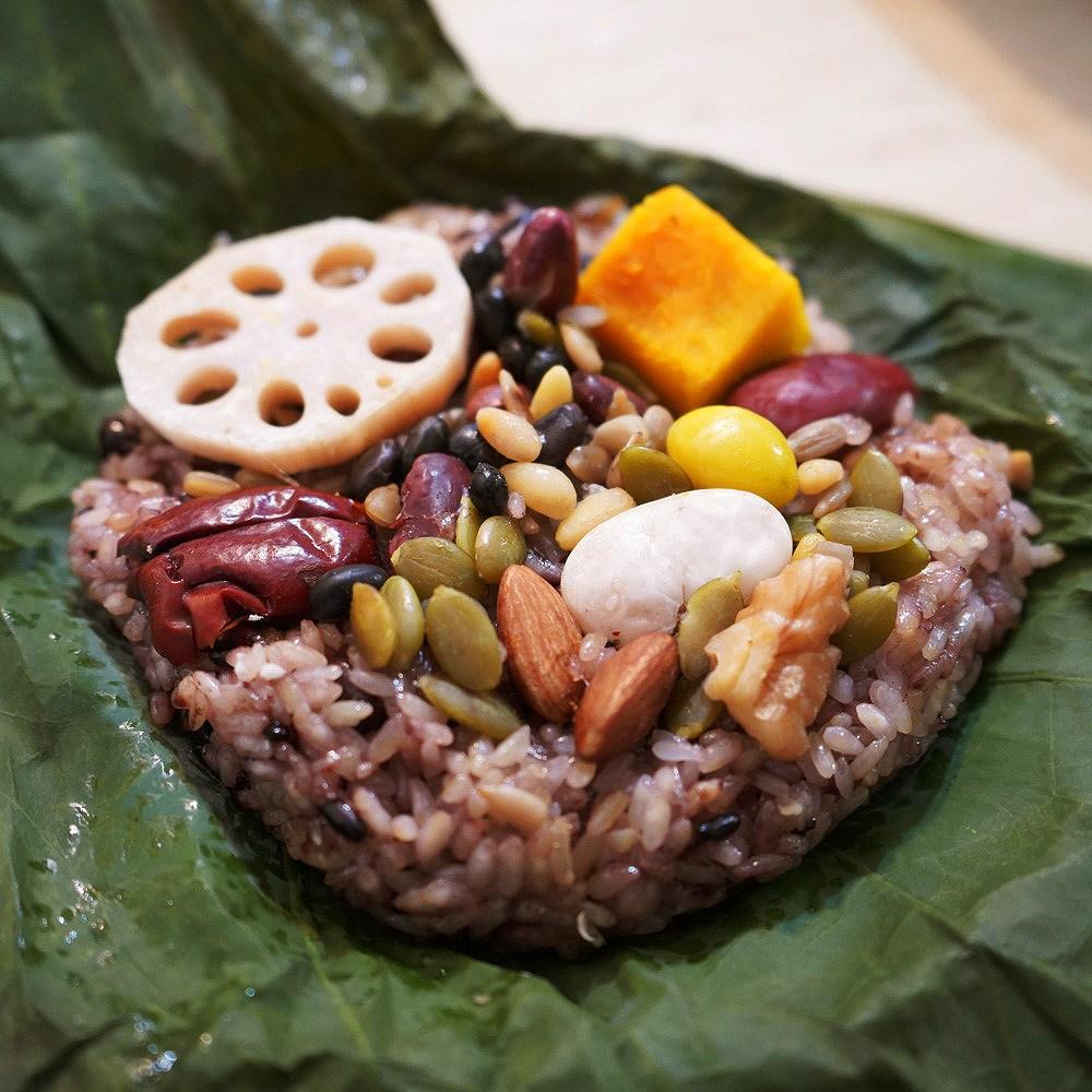 보현재 수제 찹쌀 연잎밥 선물세트 (1세트 10+1개 개당 250g이상), 11개, 250g