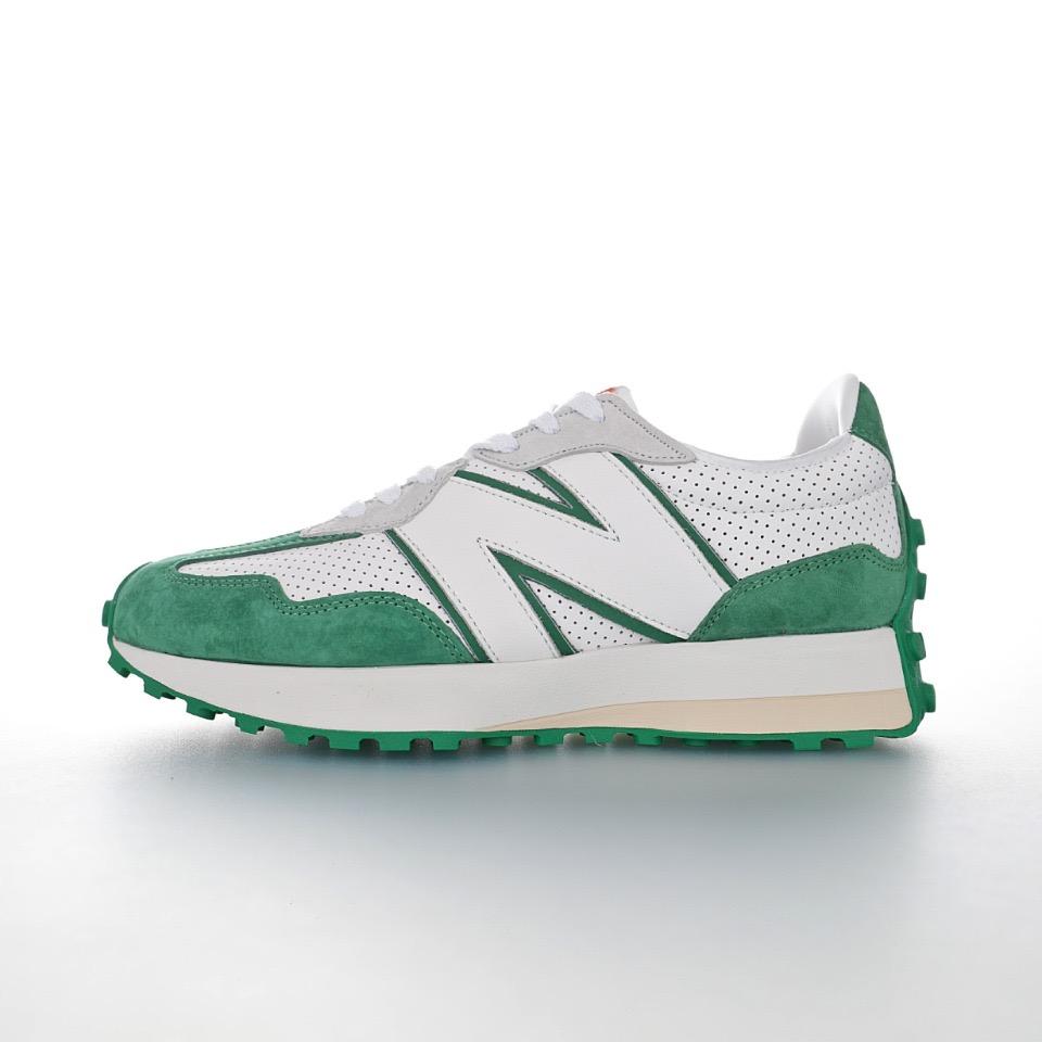 상호몰 NB 뉴발란스 MS327 MS327CBD green & White 남녀공용 커플신발