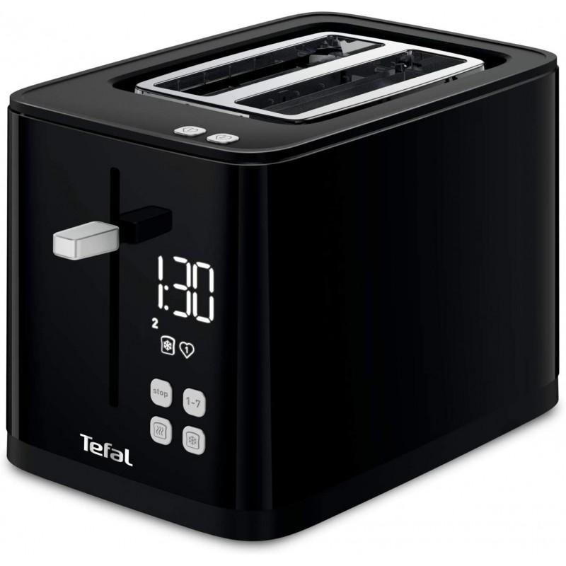 [독일] 테팔 스마트 & 라이트 TT640810 토스터 디지털 7 위치 블랙 토스터 블랙, 단일상품