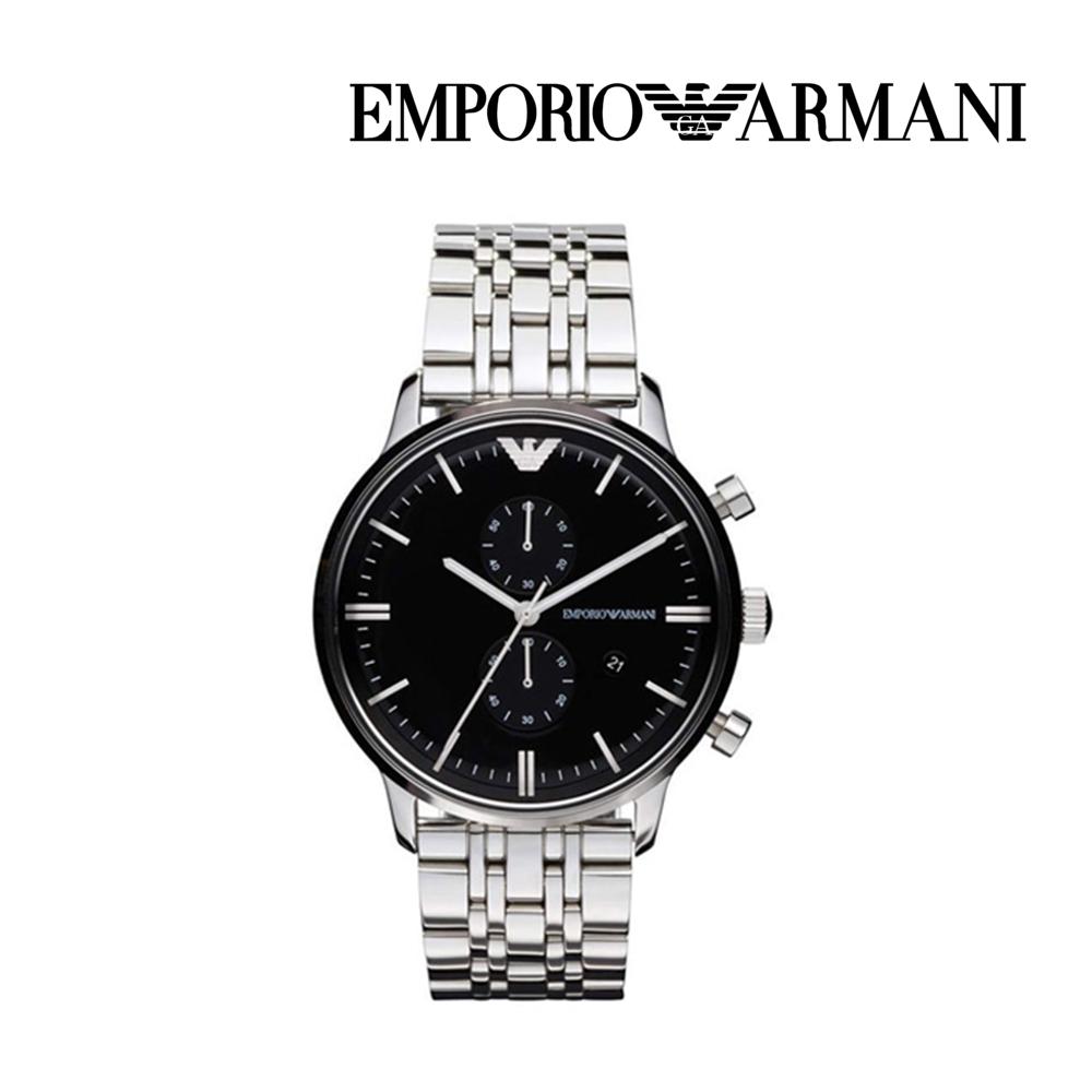 엠포리오 아르마니 남자 메탈 손목시계 AR0389