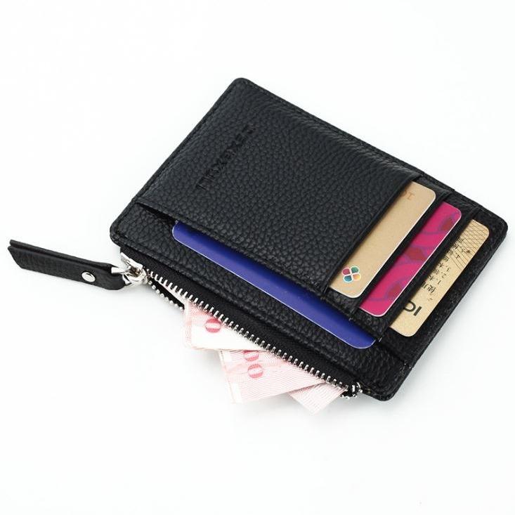 인트롤리 동전 지퍼 양면 카드지갑 P1003