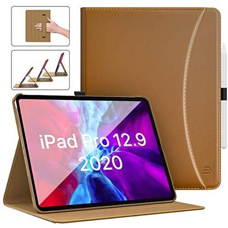 아이패드 프로 4세대 12.9 스마트커버 S256 PU가죽 케이스 Dadanism Case for iPad Pro 12.9 inch 2020 [, One Color