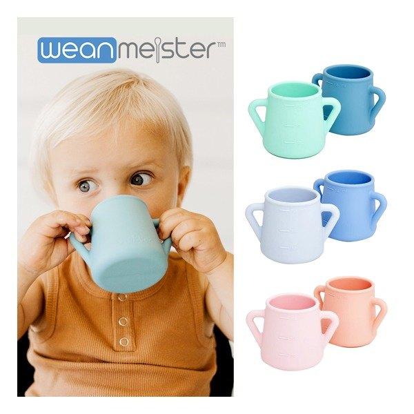 [윈마이스터] 아기컵 2P(색상선택)/아기물컵/유아컵, 색상:핑크
