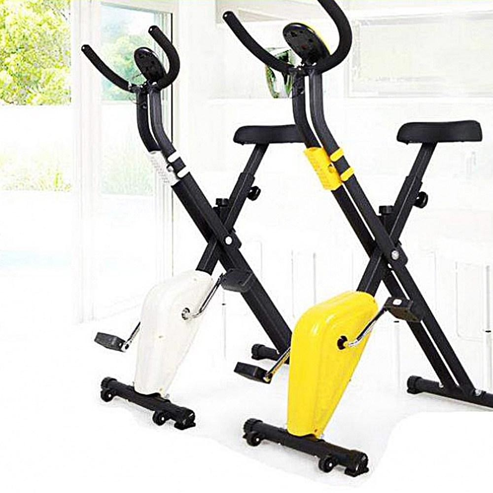 실내용 자전거 미니 운동기구 접이식 가벼운 다이어트 거실 스피닝 유산소 싸이클
