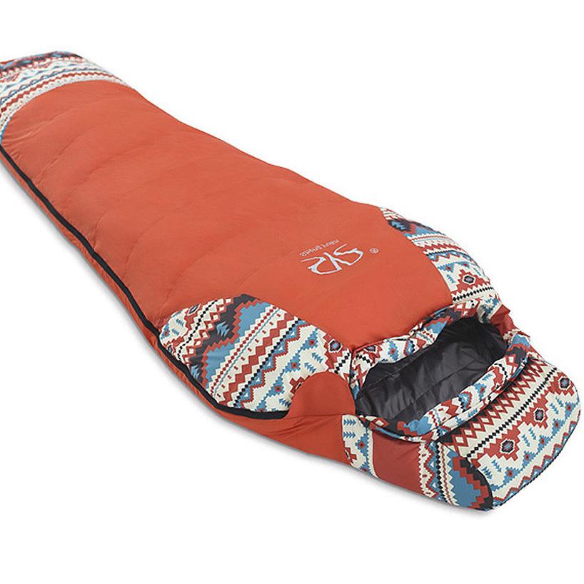 캠핑클럽 C1 오리털침낭 덕다운 감성캠핑용품 콜맨 형 캠핑침낭, 1240230