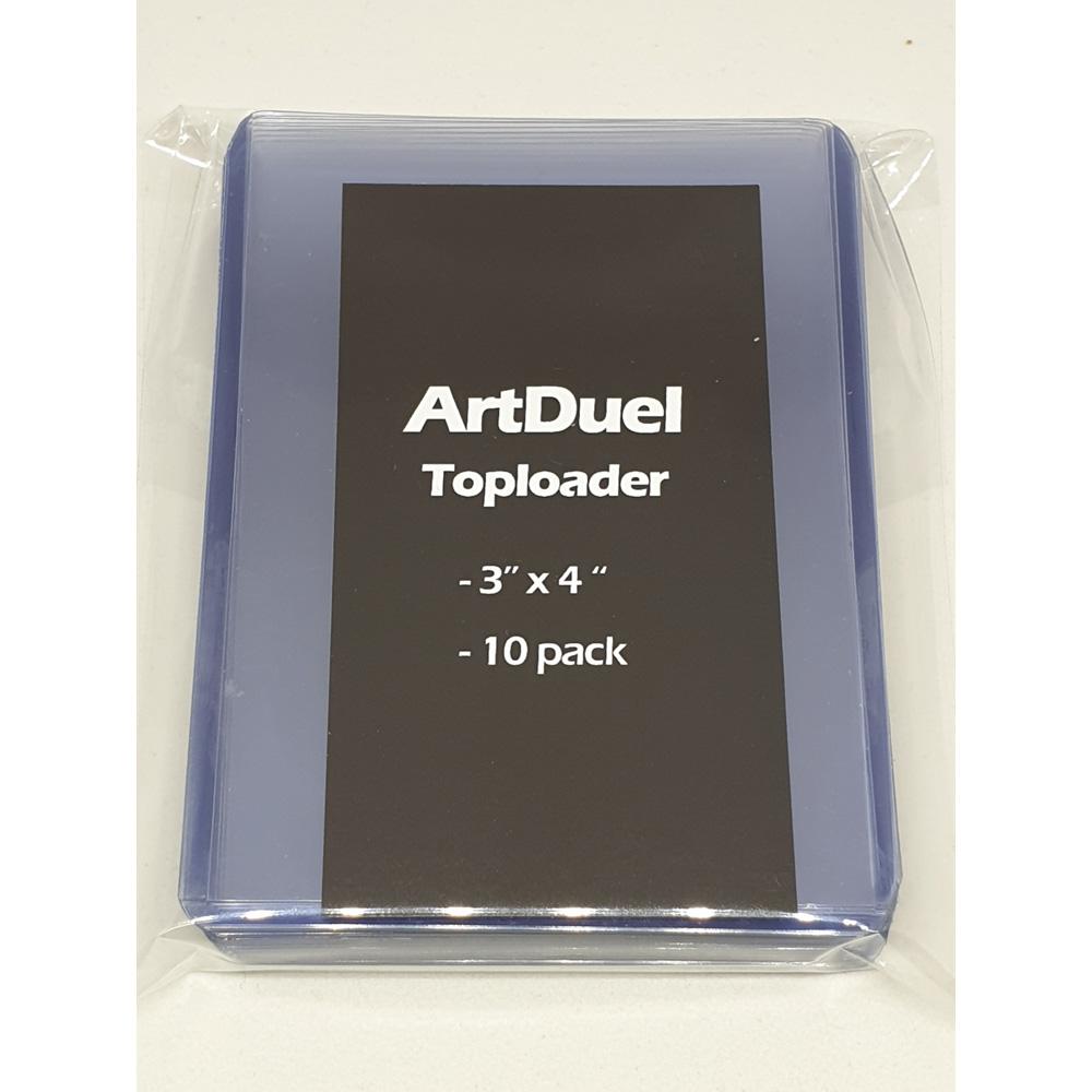 탑로더 3x4 투명 플라스틱 하드 케이스 10개팩 포카 포토 사진 스포츠 게임카드 보관