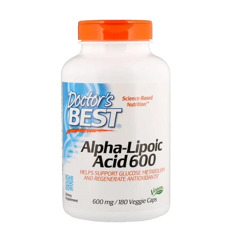 닥터스 베스트 알파 리포산 600 mg 180 베지 캡슐